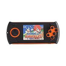 Handheld Gaming Console with 1000 Genesis Mega Drive Sega Genesis Megadrive Games Orange