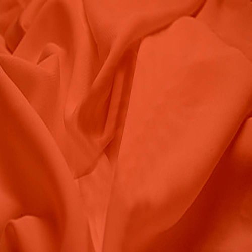 orange sewing fabric - 2