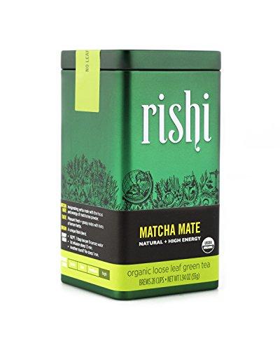 Rishi Tea Organic Matcha Mate Loose Leaf Tea, 1.94 Ounce