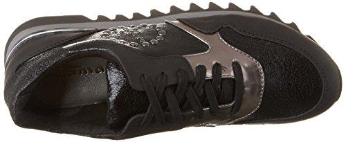 053 Tamaris Schwarz Black Sneaker Damen comb Str 23614 rwqx0rz