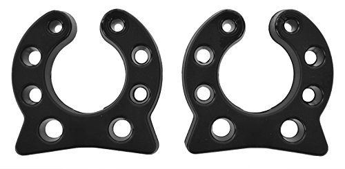 Pole Mounting Clips (SuperStick Pole Storage Clip, Black, 1