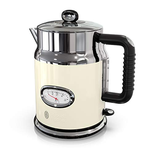 Retro Cream - Russell Hobbs KE5550CRR Retro Style Electric Kettle 1.7L Cream