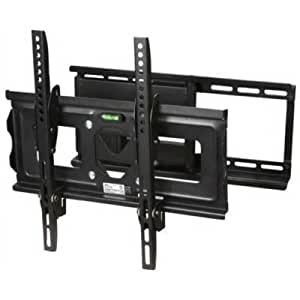 siig full motion 23 to 42 tv wall mount for flat panel display 23 to 42 screen. Black Bedroom Furniture Sets. Home Design Ideas