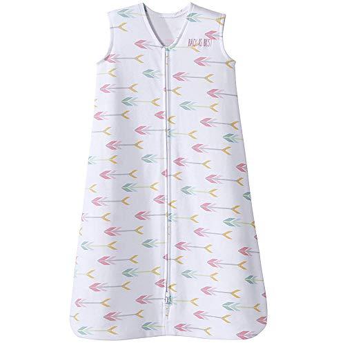 Halo Sleepsack 100% Cotton Wearable Blanket, Pink Arrow, Medium