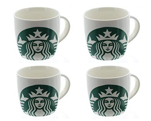 (Starbucks Logo Mug, 14oz ... (4 pack))