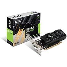 MSI GAMING GeForce GTX 1050 2GB GDRR5 128-bit HDCP Support DirectX 12 Low Profile Graphics Card (GTX 1050 2GT LP)