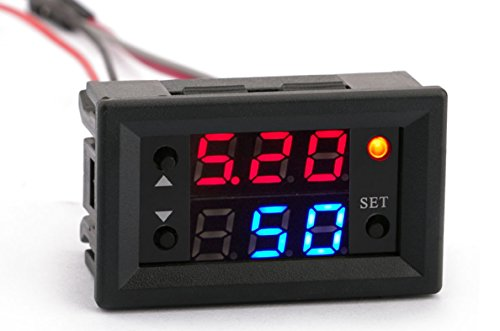 PWM Frequency Meter, Yeeco LED Display PWM Square Wave Pulse Signal Generator Adjustable Frequency Duty Ratio 100% 1Hz-160KHz Adjustable Frequency Amplitude