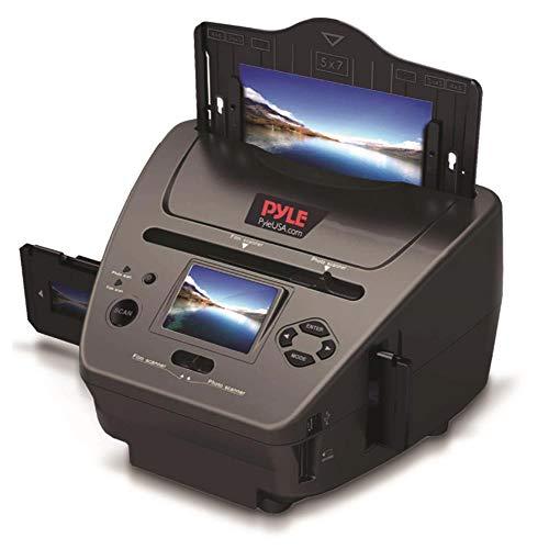 Digital Film  Slide Scanner - Convert 35mm, 126, 110, Super 8 & 8mm Film Negatives & Slides   With HD 5.1 MP - Digital LCD Screen,  Easy to Use - By Pyle