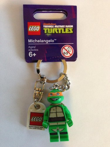 LEGO Teenage Mutant Ninja Turtles Michelangelo Key Chain