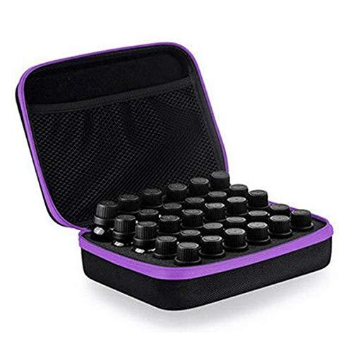 ExcLent 30 Bottles Aroma Essential Oil Carrying Storage Case Portable Travel Holder Bag – M3 * 28