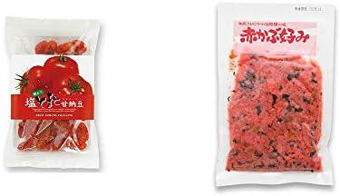 [2点セット] 朝どり 塩とまと甘納豆(150g)・赤かぶ好み(150g)
