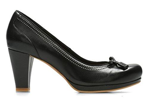 En Clarks Chorus Cuir Taille Chaussures 38 Habillé Bombay Femme Noir qqZpwX