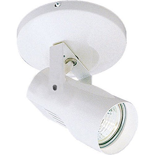 WAC Lighting ME-007LED-WT LED Monopoint 007 Spot Light with LED Lamp Included, White