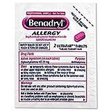 Brand New!! Benadryl 25/2s Display Box 25 Packets
