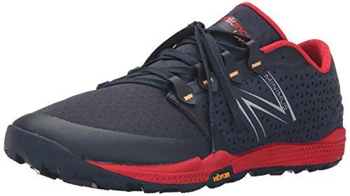 New Balance Herren MT10BR4-Minimus Traillaufschuhe, Mehrfarbig (Black/Red 009Black/Red 009), 42.5 EU