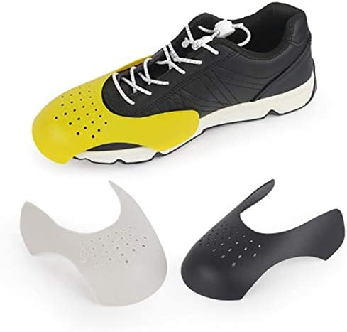 Puntale Anti-Piega Supporto Toe Wrinkle Film Stereotipo Sneaker Scudo Grigio 40-45