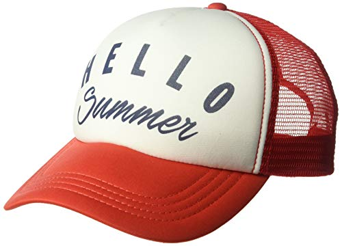 Billabong Women's Across Waves Trucker Hat Fuego One Size