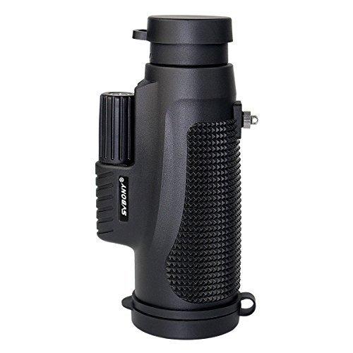 SVBONY SV11 10x42 Monocular Telescope IPX7 Waterproof Monocular for Shooting Bird Watching Hiking