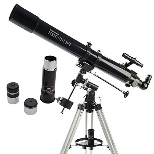 Celestron Powerseeker 80 EQ – Telescopio Refractor