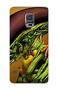 Galaxy S5 Case Cover Vegetable Alien Case - Eco-friendly Packaging