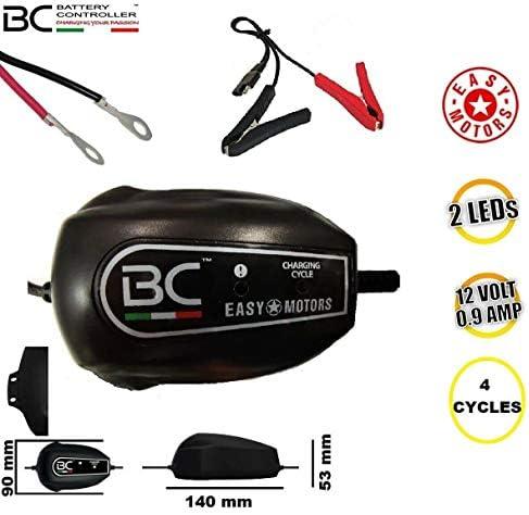 Generico BC Battery Controller Easy Motors Batterieladegerät und wartung 12v 1,2-100 ah Suzuki GSX E (N/S/T/X) (2CIL) 400 80/81