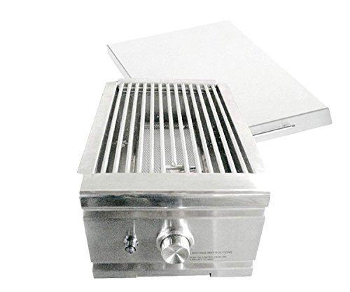 Infrared Side Burner - Summerset TRL Series Built-In Sear Side Burner (SSEAR-1-LP), Propane
