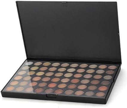 Paleta Estuche Sombra de Ojos 120 Colores Cálidos Maquillaje Mate: Amazon.es: Belleza