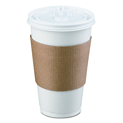LBP 6106 Coffee Clutch Hot Cup Sleeve, Brown (Case of 1200) by LBP