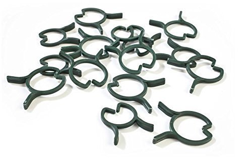 Plant Support Garden Clips for Vines & Vegetables - Trellis Tomatoes and Flowers to Grow Upright and Healthier - 150Pcs ()