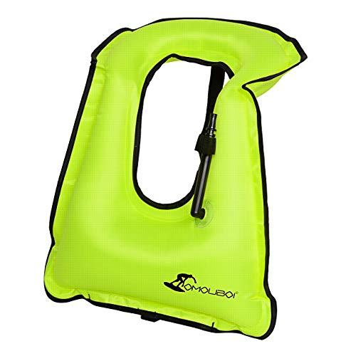 Omouboi Inflatable Snorkel Vest
