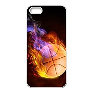 Custom Fire Basketball Back Cover Case for iphone 4s