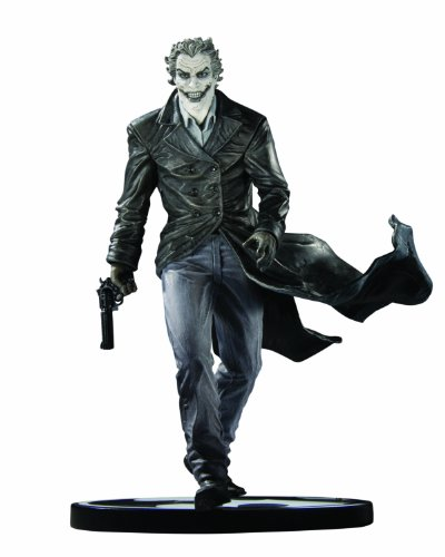 DC Direct Batman Black and White Statue: The Joker by Lee Bermejo