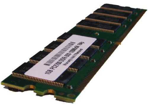 (DC341A 1GB PC2700 333MHz 184 pin DDR SDRAM Non-ECC DIMM Memory RAM for HP Compaq Workstation xw3100 (PARTS-QUICK BRAND))