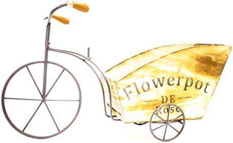 Tarros de bicicleta Vintage Flores, maceta de flores
