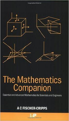 Download E Books The Mathematics Companion Mathematical Methods For