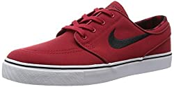 Nike Sb Zoom Stefan Janoski Canvas Prm Mens Trainers 705190 Sneakers Shoes (Uk 7.5 Us 8.5 Eu 42, Team Red Black White 601)