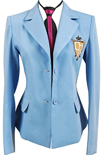 Costhat Ouran High School Host Club Boy Suit Top Uniform Blazer Cosplay Costume (Tv Host Costume)