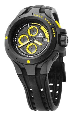 adidas Performance - adp1711 - Fortitude - Reloj Sport Hombre cronógrafo - Cuarzo analógico - Correa de plástico Negro: Amazon.es: Relojes