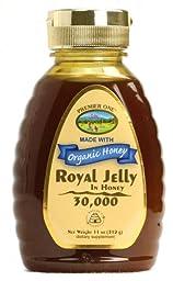 Organic Honey With Royal Jelly 30, 000 mg Premier One 11 oz Liquid