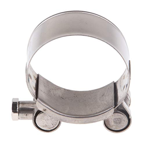 Flameer Motorbike Exhaust Clamp Clip Stainless Steel Muffler Silencer Clamps - ()