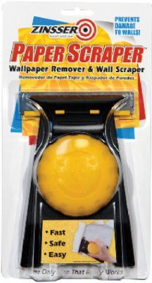 Zinsser 02986 Paper Scraper Wallcovering Remover & Wall ()