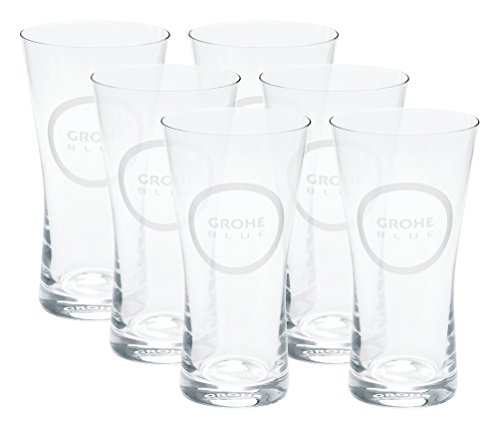 8.5 Oz. Drinking Water Glasses Set (Set of 6) ()