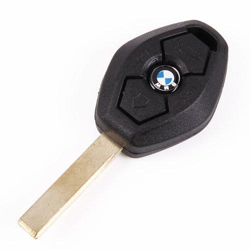 BMW 3 Buttons Remote Uncut Key Shell Case for BMW 1 3 5 6 7 Series X3 X5 Z3 Z4 325i 525i 330i