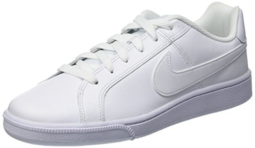 Nike Mens Court Royal Leather Trainers White/White