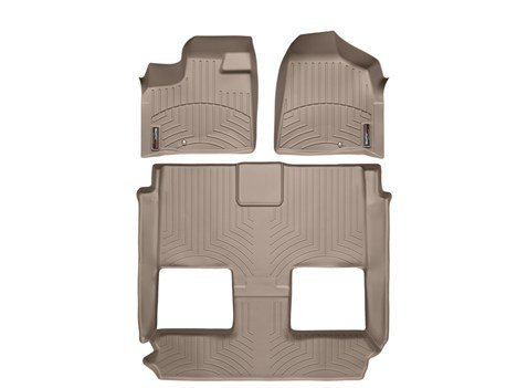 2011-2015-chrysler-town-country-tan-weathertech-floor-liner-full-set-1st-row-one-piece-2nd-3rd-row-b