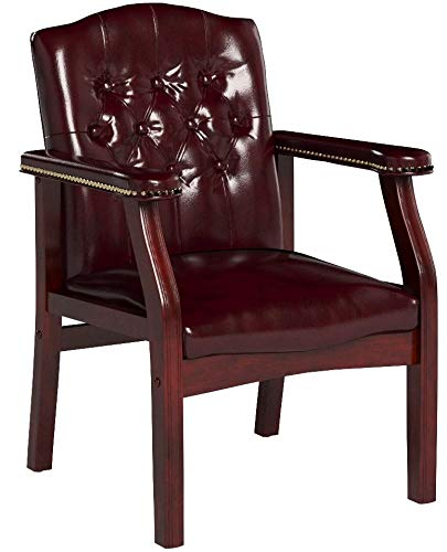 Boss Office Products B959-BY Ivy League Executive Guest Chair in Burgundy by Boss Office Products (Image #8)