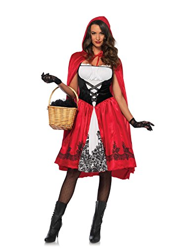 Little Red Riding Hood Costumes Halloween (Classic Little Red Riding Hood Adult Costume - Large)