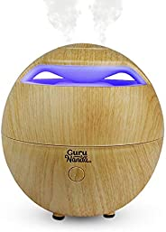 GuruNanda Light Globe Essential Oil Diffuser - 7 Color Changing LED Lights - Cool Mist Ultrasonic Humidifier F