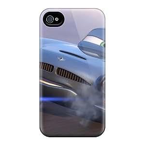 Iphone 4/4s QVN19972mTsI Custom Fashion The Good Dinosaur Pattern Shock-Absorbing Cell-phone Hard Covers -IanJoeyPatricia