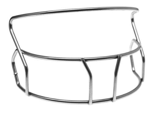 (Schutt Sports Air Lite Softball Batter's Helmet Guard, Silver Chrome)
